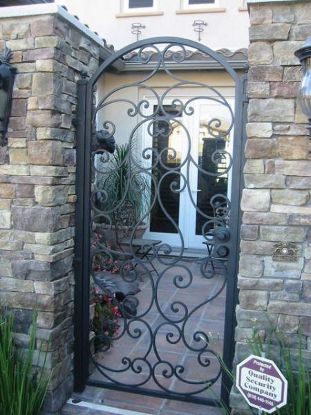Custom Gates. Patio Gate
