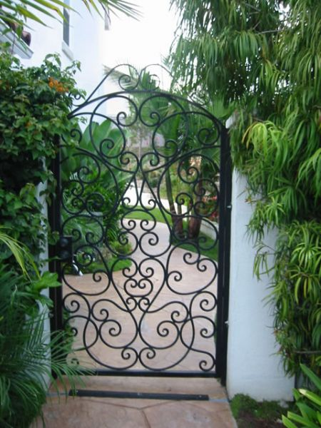 Lovely Custom Gates. Garden 2