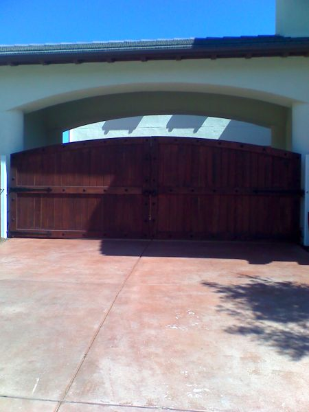 Wood Gates Doors