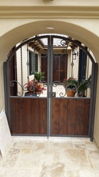 Iron Door Frame Design