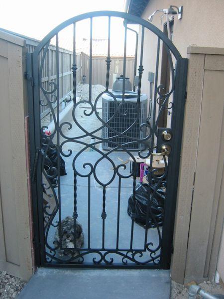 Iron gates custom
