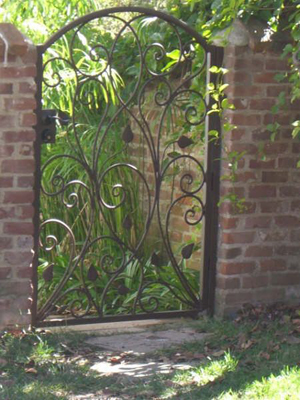 Incroyable Garden Iron Gate
