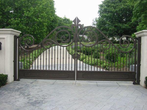 Farm Gate Entrance Rustic